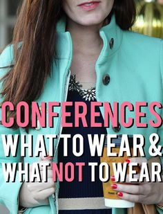 "I think it is required that to pack for a conference, you have to have a momentary lapse of ""OMG I have no idea what to wear."" In reality, c. Sorority Sisters, Sorority Life, Conference Outfit, Work Fashion, Fashion Tips, Women's Fashion, Fashion Trends, Leadership Conference, Teacher Conferences"