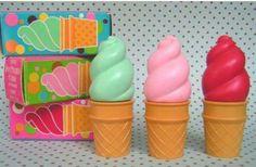 Avon Ice Cream Cone lip gloss.