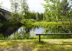 Suomen parhaassa kuntoutuksessa kaikki pääsee ulos! Ja vieläpä näihin maisemiin. Hyvää Elämää Taivalkoskella.