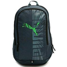 Puma Graphic Backpack - Ombre Blue- Island Green 239039c34a7c8