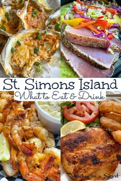 St. Simons Island, Georgia - Restaurants - The Best Places to Eat including a guide to the top 20 restaurants on the island including seafood, southern food, breakfast, lunch and dinner plus fine dining with a view. Curious where to eat and drink on Saint Simons Island? Start here! / Running in a Skirt #ssi #stsimonsisland #georgiatravel #foodietravel