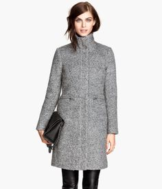 Wool-blend Bouclé Coat $99 http://www.hm.com/us/product/42505?article=42505-A Product Detail | H&M US