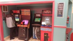 My local pizza place has free arcade games