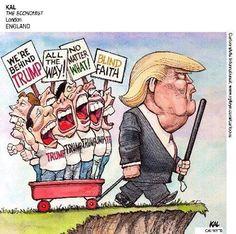 Fools follow fools! #DumpTrump #VoteBlueAlways
