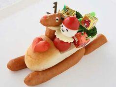 Christmas hotdog!
