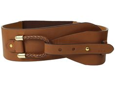 "LAUREN by Ralph Lauren Stretch 2 3/4"" Loop Belt Tan - Zappos.com Free Shipping BOTH Ways"