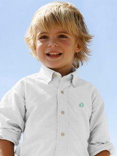 Wonderful Little Boy Long Hair Cut. I Like This Cut For Gaby