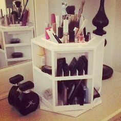 My new makeup organizer! I love mine, got it for x-mas couple of years ago.