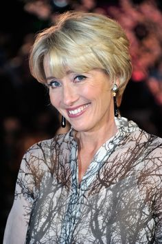 Actress Emma Thompson attends the Closing Night Gala European Premiere of 'Saving Mr Banks' during the 57th BFI London Film Festival at Odeon Leicester Square on October 20, 2013 in London, England.