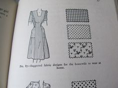 1947 The Standard Book of Sewing by Drucella Lowrie. 12.50, via Etsy.