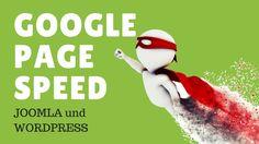 Google Pagespeed Insights Wordpress und Joomla