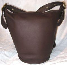 #COACH DUFFEL BAG PURSE #VINTAGE MAHOGANY J9P 9953 NEW BROWN BRIDLE LEATHER #eBay #coachpurse #bargains #fashionista #purses #handbags