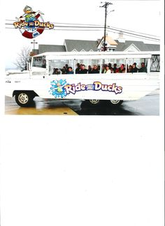 can't go to Branson without riding the Ducks !!!  QUACK !