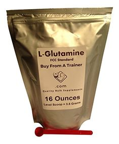 Lglutamine Powder 16 Ounces oz * To view further for this item, visit the image link.
