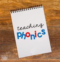 Tunstall's Teaching Tidbits: Lesson Planning Ideas: Teaching Phonics