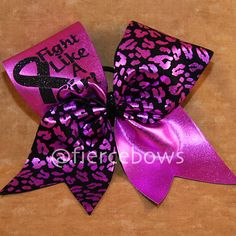 Breast Cancer Awareness Cheer Bow on Etsy 371b28345