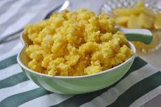 Der Türkensterz heißt auch Polentasterz und ist ein einfaches Rezept. Als Beilage gut geeignet. Polenta, Brunch, Cauliflower, Grains, Rice, Vegetables, Food, Chef Recipes, Side Plates