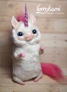 Unicorn by Furrykami-creatures.deviantart.com on @DeviantArt