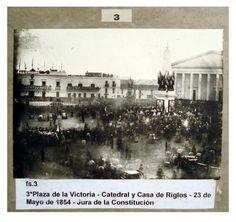 Jura de la Constitución en Buenos Aires, 1854
