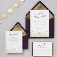 Wedding Invitations and Paper | Paper Source  Great website for cute, classy wedding invitations!