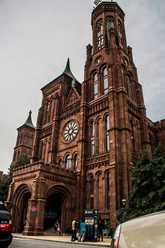The smithsonian castle...DC