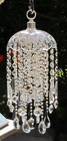 crystal wind chime sun catcher. by Leah