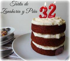 Tarta de Zanahoria y Piña (Carrot and Pineapple cake)   Las Delicias de Isabel