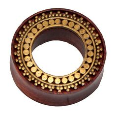Bloodwood Inlay Afghan Plug with Brass