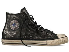 4bd778fe3b77e6 Converse John Varvatos Snakeskin Leather Chuck Taylor All Star  The classic Converse  Chuck Taylor All Star silhouette is as iconic a look as they come in ...