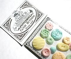 50 Best Bridal Shower Favor Ideas: candy buttons favors (by andie's specialty sweets)