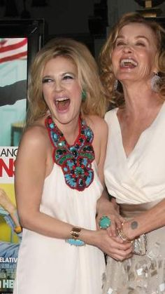 Drew Barrymore and Jessica Lange// laughter is a soothing experience n always wonderful, just like its shown w/ Drew. People Laughing, Laughing So Hard, Martin Luther King, I Love To Laugh, Make You Smile, Victor Hugo, Unspeakable Joy, Laughter The Best Medicine, Drew Barrymore