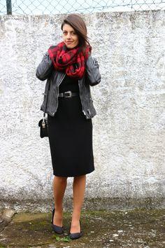 I love Fita Métrica: Black Dress