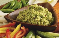 Extra Spicy Guacamole | Imagine a mouth-watering dip with very low-sodium and carbs that is quick to make. Cilantro and Mrs. Dash® Extra Spicy Seasoning Blend add punch to avocados, chopped onion and lemon juice.