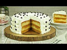 Tort cu crema de vanilie si sirop de caramel | Tort Petre Roman - YouTube Romanian Desserts, Cake Recipes, Dessert Recipes, Food Cakes, Vanilla Cake, Caramel, Petra, Waffles, Deserts