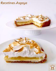 Meringue Pie / Tarta de Merengue, Manzana y Pera_RECETINES ASGAYA:
