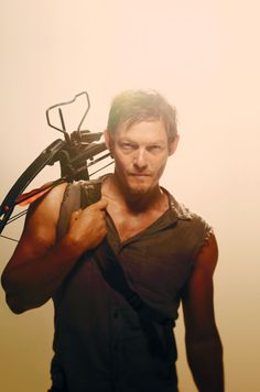 Daryl Dixon. There's something sexy about him...& I don't know why...