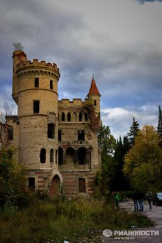 Gothic-style castle was founded by Count Khrapovitsky in Muromtsevo village, in Russia's Vladimir region, in the 1880s.  The legend has it that Khrapovitsky he constructed the castle as a bet. While he was travelling across in France, he was amazed by Medieval castles, and an idea came to him. The idea was to construct an estate in the same style. But his French friends, who accompanied the count on his trip, said it was impossible. Khrapovitsky made a bet with them that he'd build the…