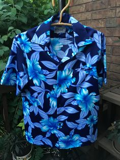 Vintage Men's POMARE Hawaiian Shirt, 1970s by JustClickThreeTimes on Etsy