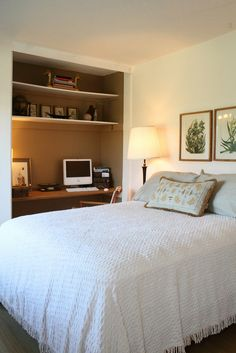 guest bedroom home office combo could easily be done in upstairs bedroom until we have bedroom guest office combination