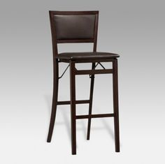 Linon Keira Pad Back 30 in. Folding Bar Stool   www.barstools.com