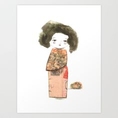 Oriental+II+Art+Print+by+munieca+-+$16.00