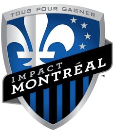 Montreal Impact Primary Logo on Chris Creamer's Sports Logos Page - SportsLogos. A virtual museum of sports logos, uniforms and historical items. Currently over on display for your viewing pleasure Soccer Logo, Football Team Logos, Soccer Fans, Sports Logos, Sports Teams, Football Soccer, Toronto Fc, Hockey, Sports Merchandise