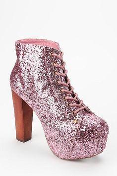 Jeffrey Campbell Glitter Lita Boot