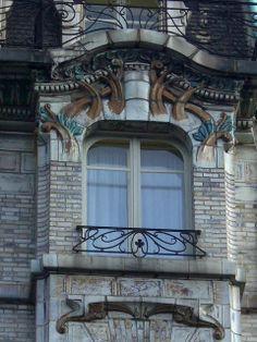34 avenue de Wagram, Paris VIIIe - Architecte Jules Lavirotte