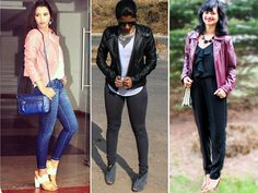 The fall/winter collection is full of leather jackets everywhere. But leather jackets don't always mean going biker/rock chic. Believe it or not, but you can go feminine and even flirty with them.  It's all about styling them well and that is what the fashionistas show us here.  Check out 10 different ways to style your leather jacket and stand out amongst the crowd. Don't Miss! 10 Ways to Style the Leather Skirt