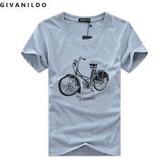 2016 Summer Fashion Brand Printed Bike Short Sleeve High Quality Men T Shirt Casual Cotton Plus. Click visit to buy #T-Shirts