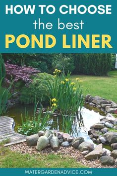 Pond liner or preformed pond - which is best for your backyard pond? Read on to learn more about pond lining options. Garden Fountains Outdoor, Outdoor Ponds, Pond Fountains, Garden Ponds, Koi Ponds, Veg Garden, Small Backyard Ponds, Backyard Water Feature, Backyard Waterfalls