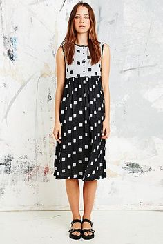 ace&jig spring14 hopscotch cliff dress at Urban Outfitters UK