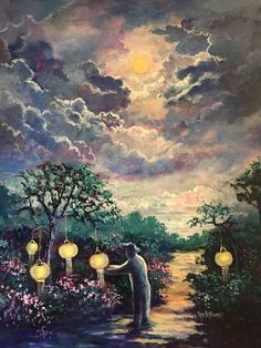 In the Night Garden by Randy Burns