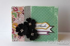 Windy Robinson - Paper Crafts magazine / TUTORIAL ink edges of dies before cutting to create border
